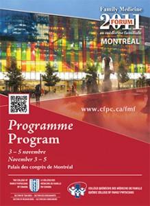 Family Medicine Forum 2011 Program cover