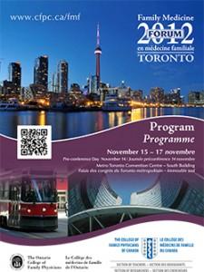 Family Medicine Forum 2012 Program cover