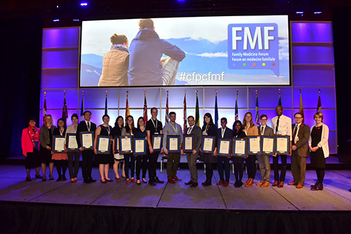 Medical Student Scholarship recipients FMF 2016