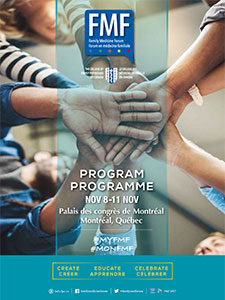 Family Medicine Forum 2017 Program cover