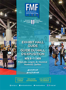 Family Medicine Forum 2017 Exhibitor Hall Guide