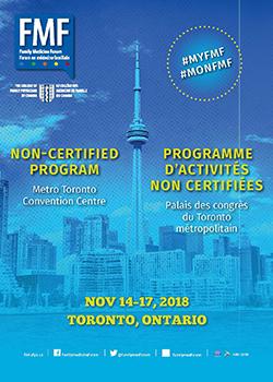 FMF 2018 Programme d'activités non certifiées