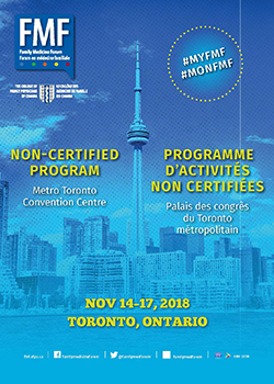 Family Medicine Forum 2019 Non-Certified Program cover