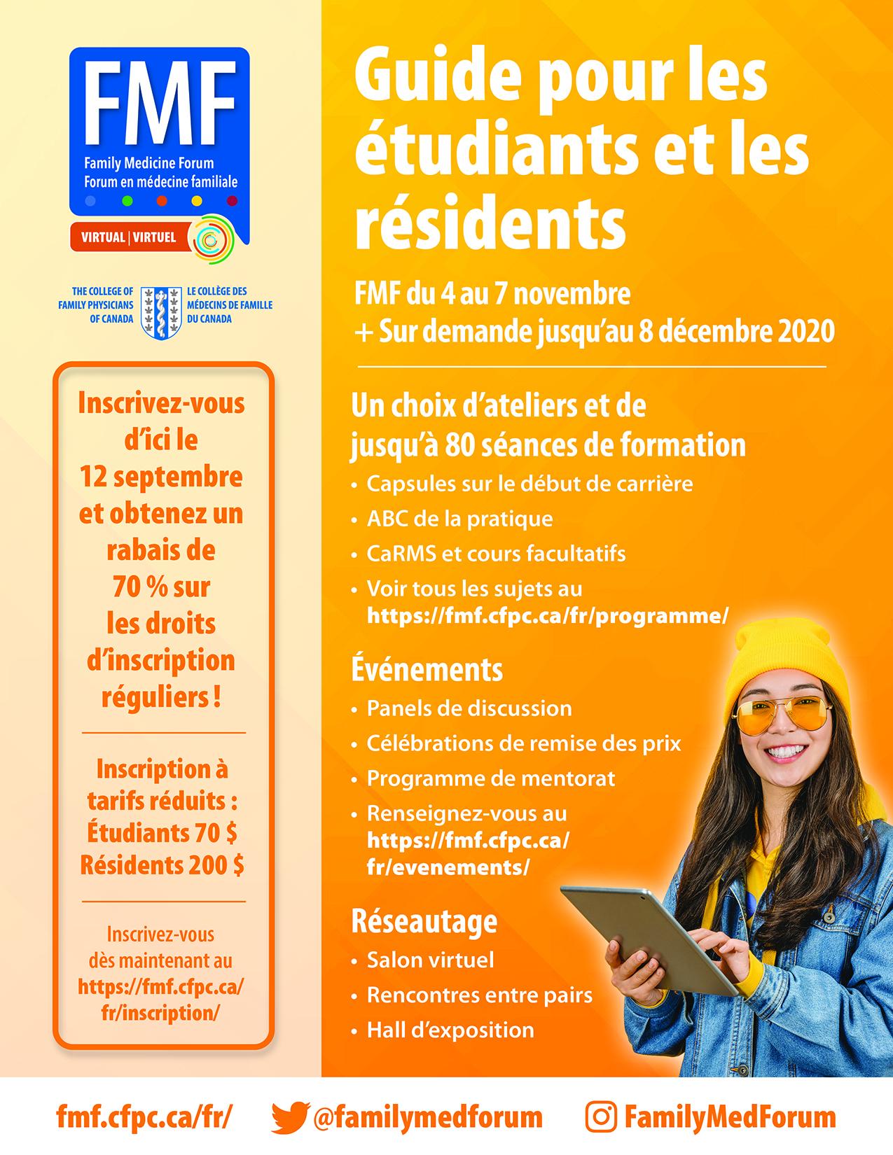 Guide pour les étudiants et les résidents