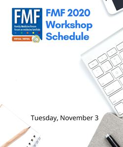 Family Medicine Forum 2020 Workshop Schedule